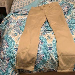 Khaki skinnies